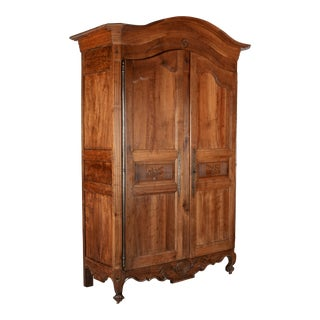 18th Century Louis XV French Armoire For Sale