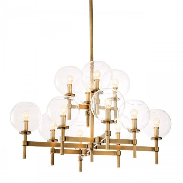 AL0148 JADE Illuminate your living room interior in contemporary style with the Jade L Chandelier. This lovely two-tiered...