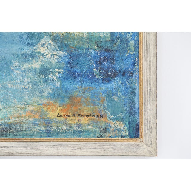 """Impressionism Louise A. Freedman, """"Untitled"""" For Sale - Image 3 of 3"""