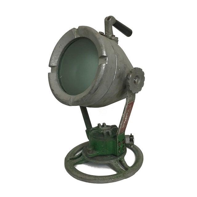 Industrial Spotlight Lamp For Sale