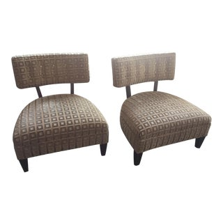 Chadds Ford by James Kieran Pine Chairs - A Pair