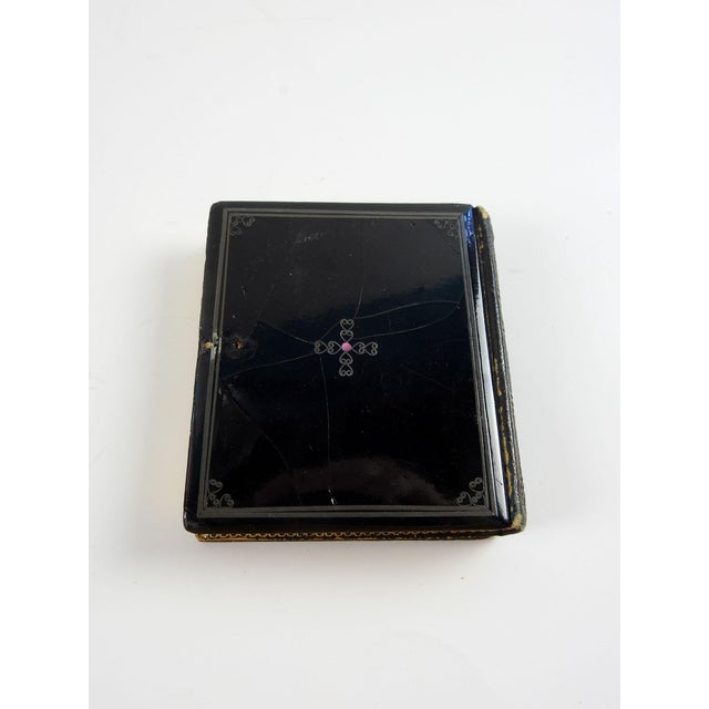 Mother of Pearl & Silver Inlay Daguerreotype Case - Image 4 of 6