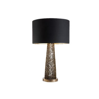 Cinabre Gallery Tubes Gold Talbe Lamp For Sale