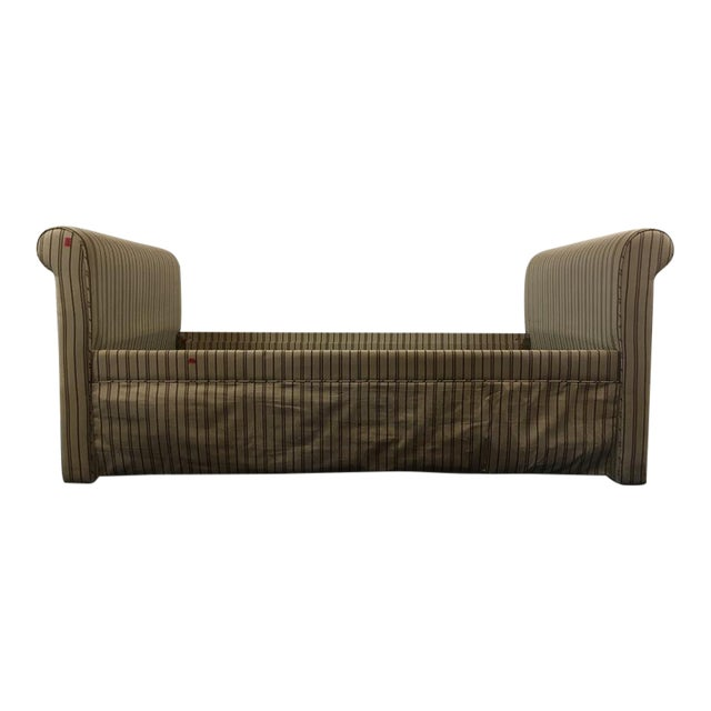 Contemporary Upholstered Daybed Frame - Image 1 of 6
