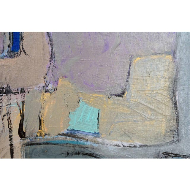 Modernist Abstract Painting - Image 3 of 5