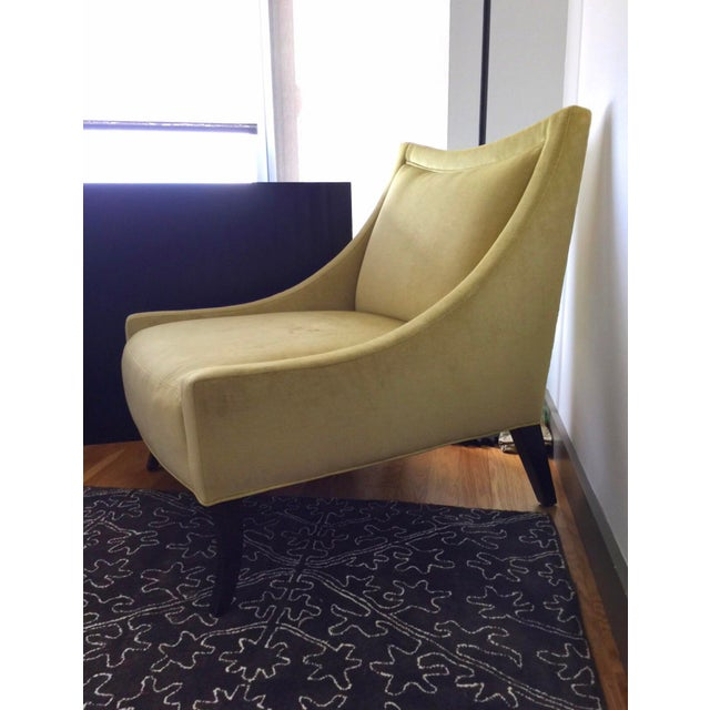 Yellow Baker Tivoli Lounge Chairs- A Pair For Sale - Image 8 of 10