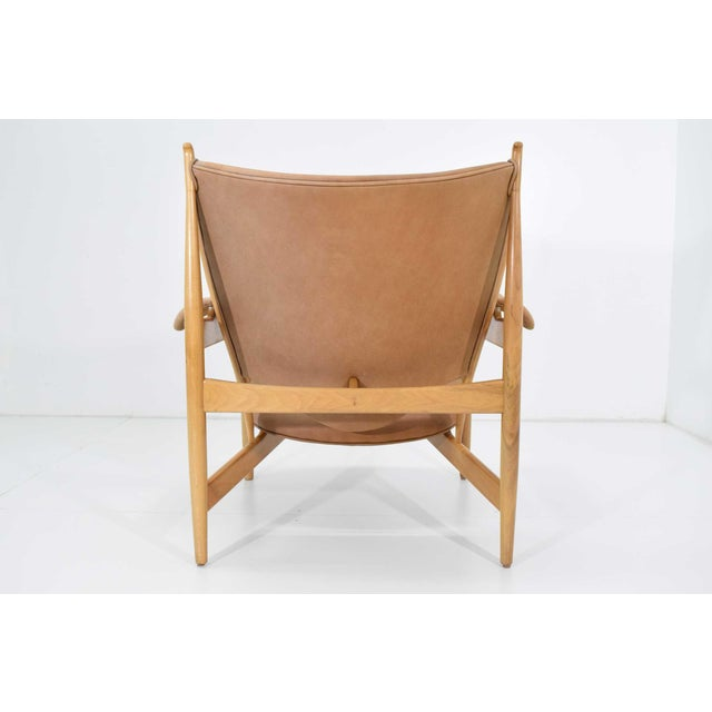 Finn Juhl Chieftain Chair and Ottoman by Baker For Sale - Image 9 of 13
