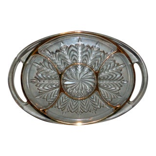"Jeannette ""Feather"" Divided Tray For Sale"