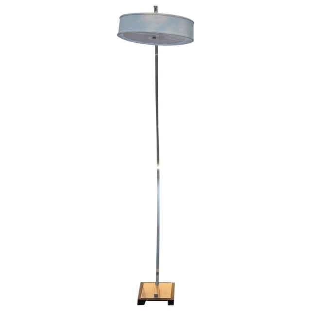 1980s Vintage Italian Freestanding Arcing Floor Lamp For Sale
