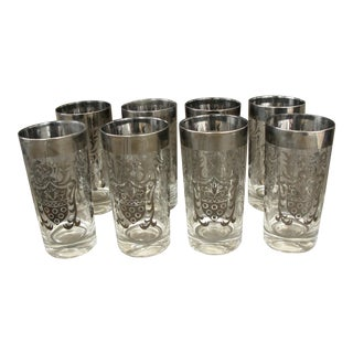 Silver Crest Tumblers - Set of 8