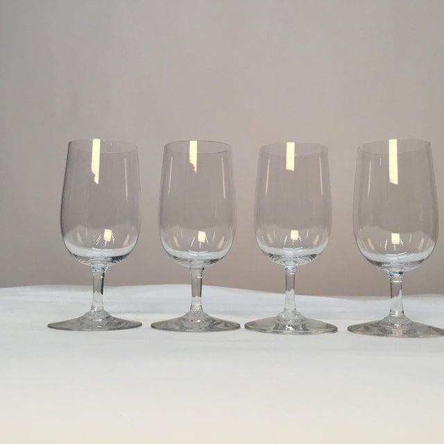 Glass Baccarat France Wine Glasses - Set of 4 For Sale - Image 7 of 7
