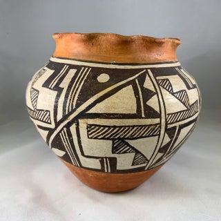 Acoma Pueblo Southwestern Olla Jar Preview