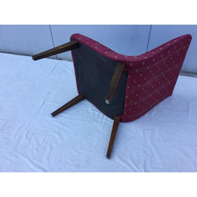 1960's Modern Slipper Chair - Image 8 of 9