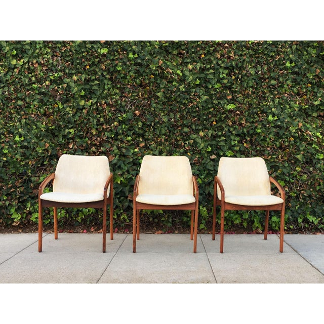 Kai Kristiansen for Korup Stolefabrik Mid-Century Modern Carver Rosewood Dining Chairs - Set of 6 - Image 3 of 7