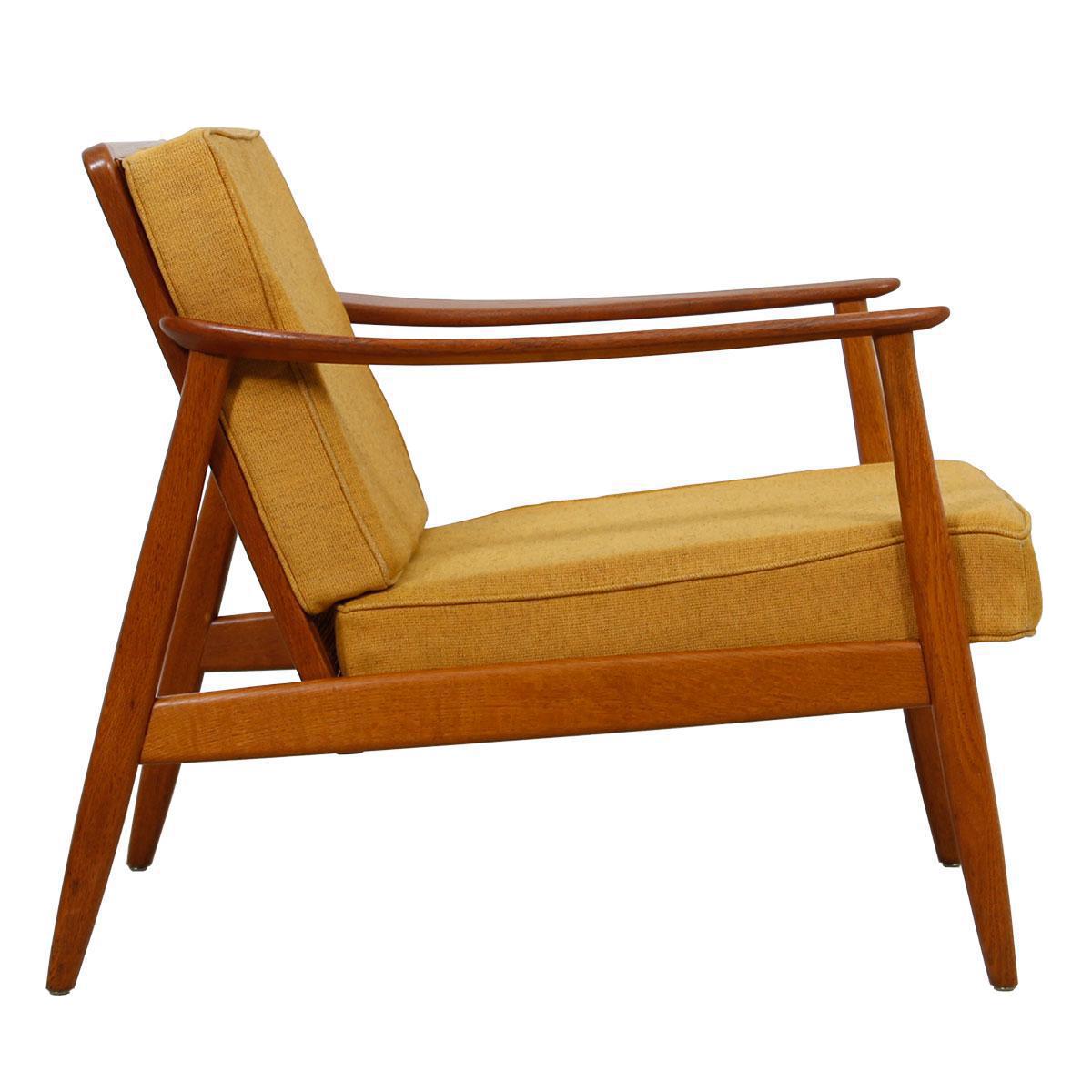 1950u0027s Folke Ohlsson Swedish Lounge Chair