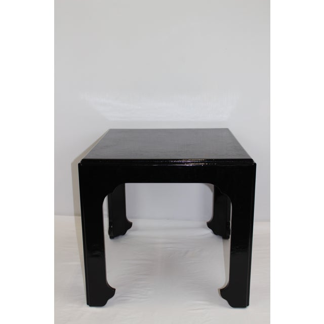 Wood 1990s Asian Antique Baker Furniture 'Far East Collection' Side Table For Sale - Image 7 of 7