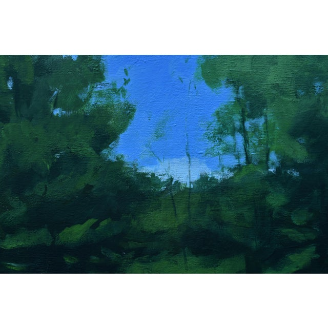 """2010s 2010s Contemporary Painting, """"Solar Panel in a Field"""" by Stephen Remick For Sale - Image 5 of 12"""