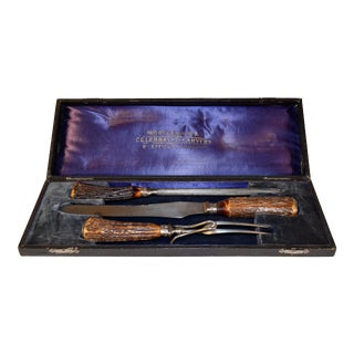 Wostenholm Carving Set in Box For Sale