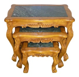 Image of Green Nesting Tables