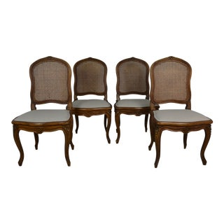 1950s French Dining Chairs - Set of 4 For Sale