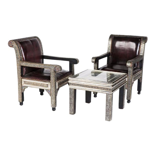 Idrisid Pair Of Chairs And Coffee Or Centre Table Living Room Chairish