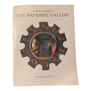 """1970s British """"Brief History of the National Gallery"""" Pamphlet For Sale"""