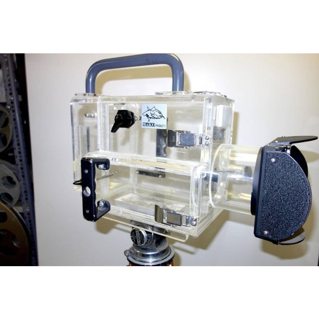 Metal Movie Camera Underwater Housing Circa 1970 by Famous Jaws Cinematographer Jordan Klein. Sold For Sale - Image 7 of 7