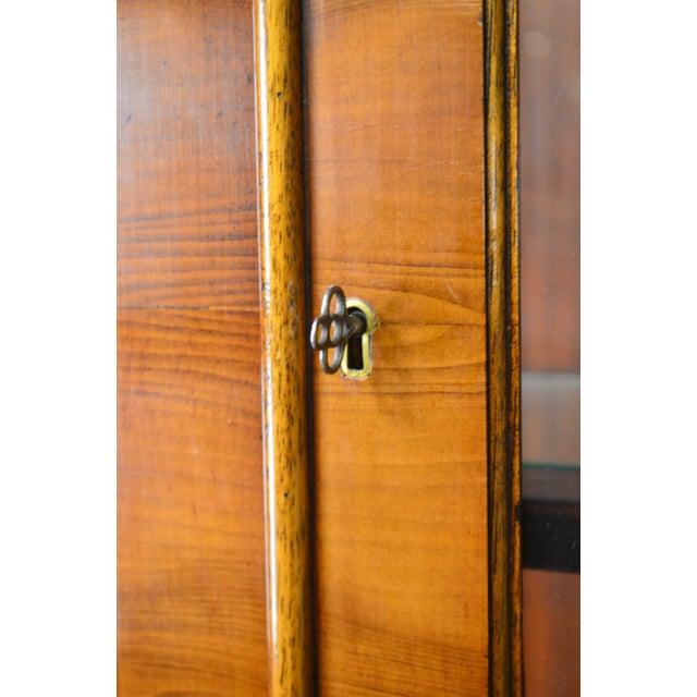Trosby George III Style English Yew Wood 4 Door Breakfront - Image 11 of 12