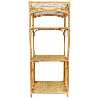 Henry Link -Style Bamboo Etagere Shelf