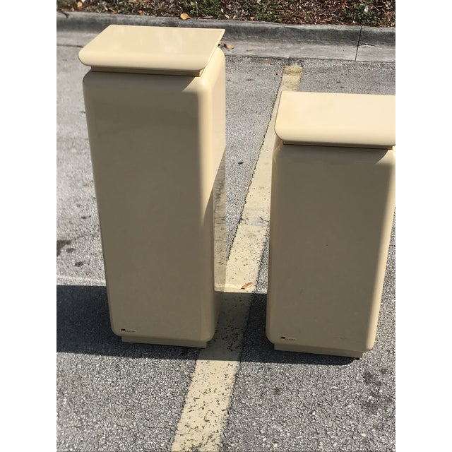 Mid Century Modern Rougie Pedestals- a Pair For Sale In Miami - Image 6 of 9
