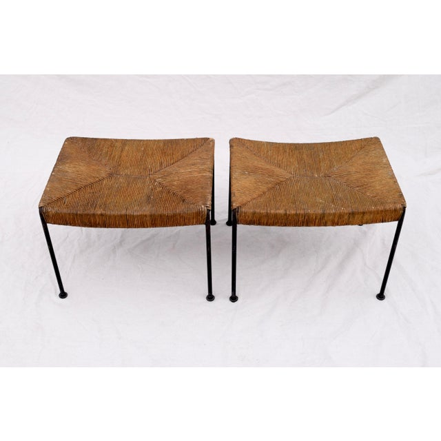 Arthur Uminoff Iron Benches - a Pair - Image 2 of 11