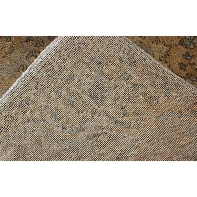 Semi Antique Tabriz Rug - 3′ × 4′9″ For Sale In Atlanta - Image 6 of 7