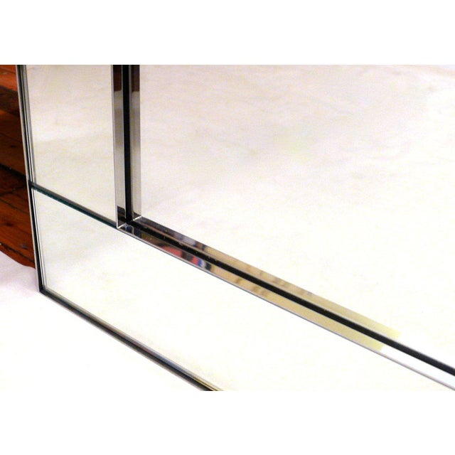 Mid-Century Modern Pair of Large Scale La Barge Mirrors For Sale - Image 3 of 11