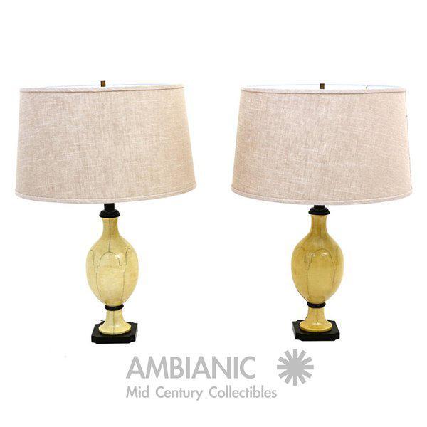 1960s Christian Fersen Table Lamps, Hollywood Regency Era For Sale - Image 5 of 9