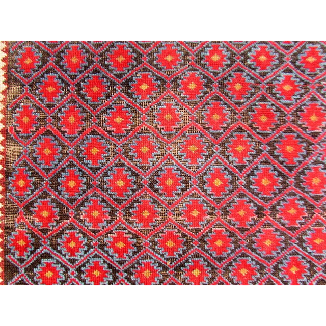 1910s, Handmade Antique Afghan Baluch Rug 3.1' X 5.9' For Sale - Image 10 of 13