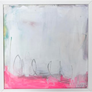 """Ding- A-Ling"", Sarah Trundle, Contemporary Abstract Painting, Unframed For Sale"