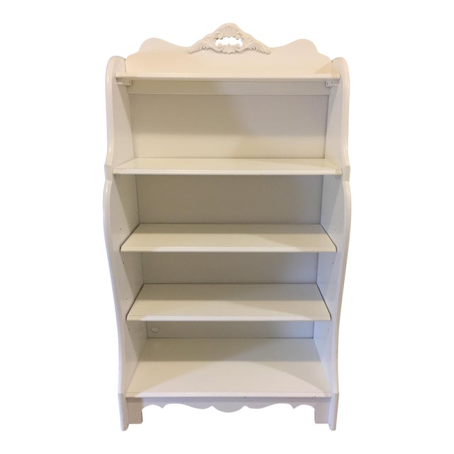 Stanley Furniture Shabby Chic Antique White Children 39 S Bookcase Chairish