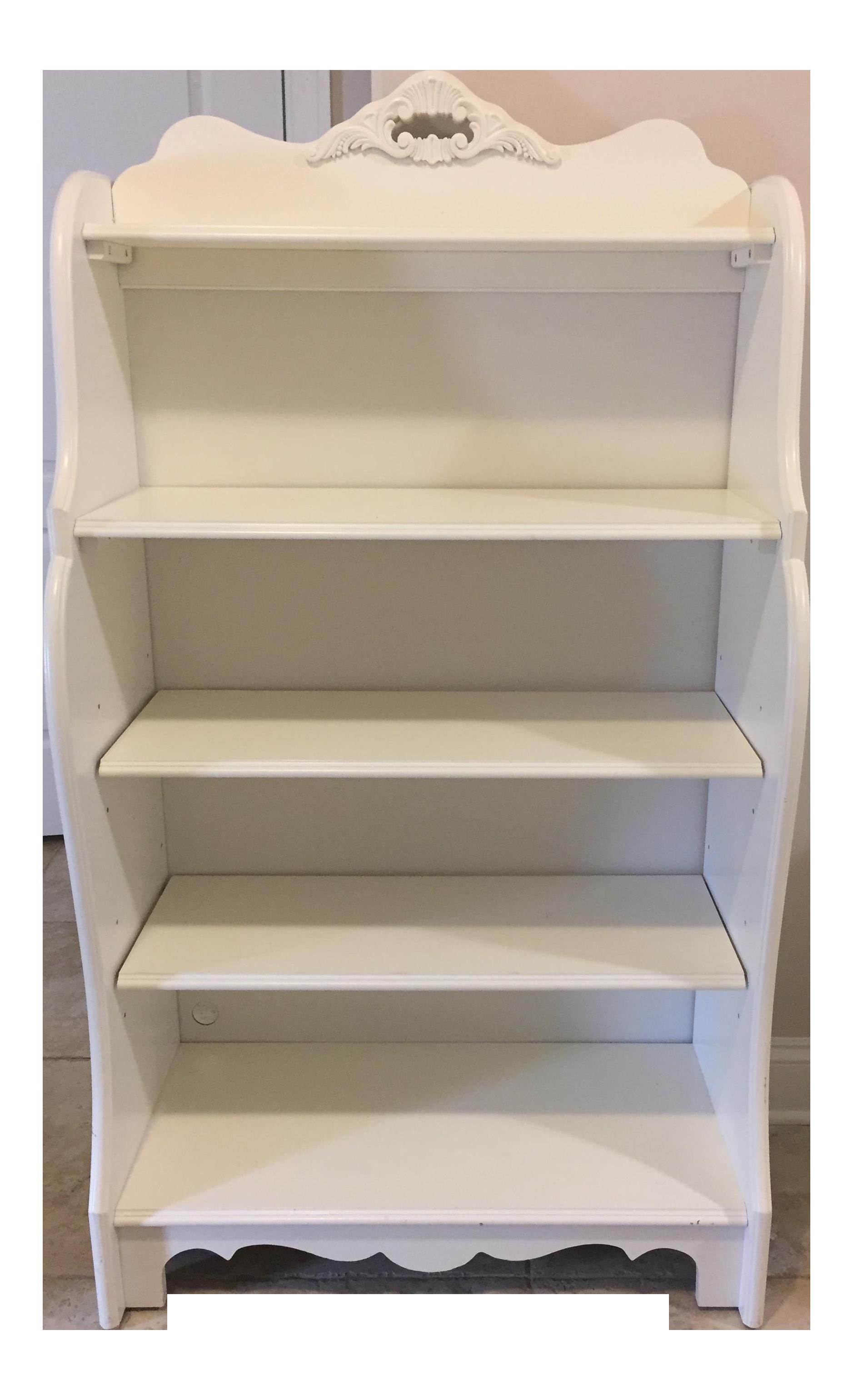 Stanley Furniture Shabby Chic Antique White Children S Bookcase