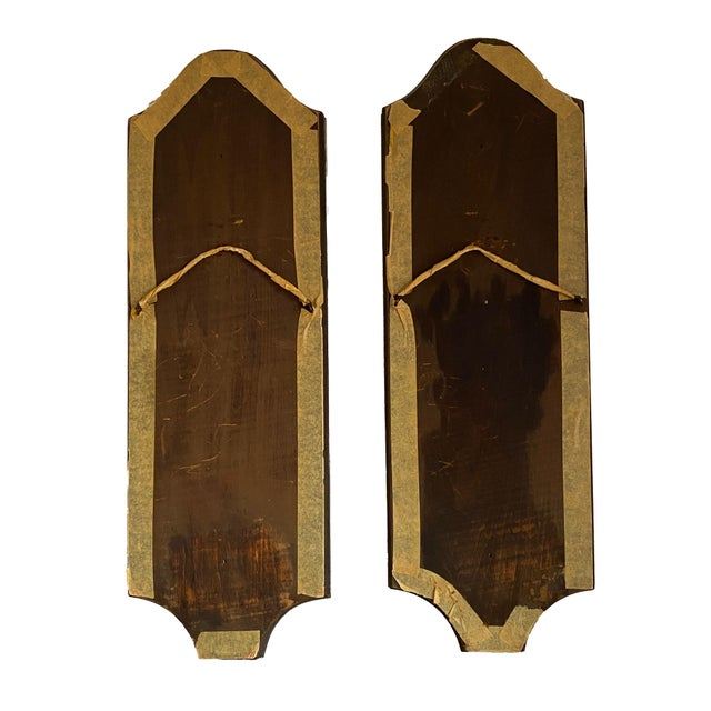 Glass Venetian Mirrors - a Pair For Sale - Image 7 of 8