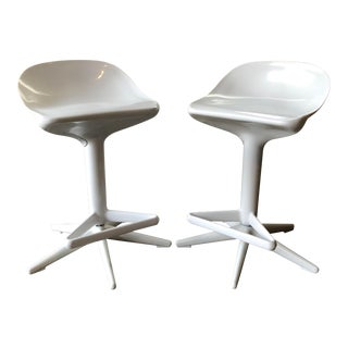 Antonio Citterio & Toan Nguyen for Kartell Spoon Stools- A Pair For Sale