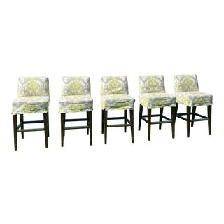 Lee Industries Bar Stools - Set of 5 For Sale