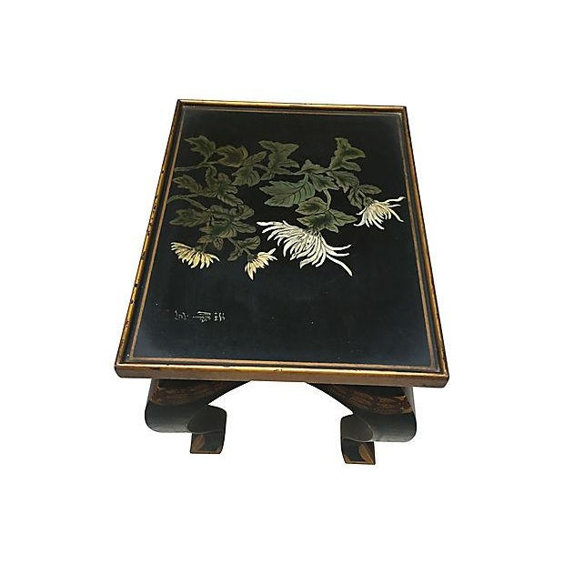 Lacquered Side Table - Image 7 of 8