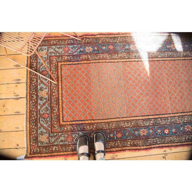 """Vintage Hamadan Rug Runner - 3'7"""" x 6'10"""" - Image 2 of 10"""