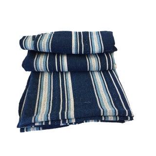 Fine VTG Dyed Mossi indigo cloth Burkina Faso