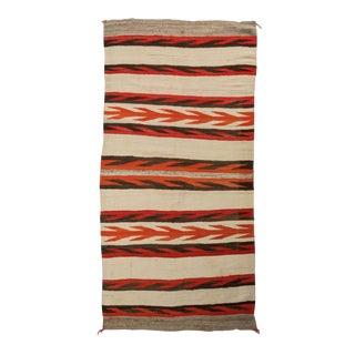 1920s Navajo Hand-Spun Rug For Sale