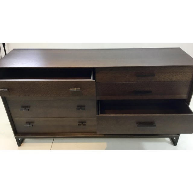 Modern Caracole Modern Artisan Walnut Finished Dresser For Sale - Image 3 of 8