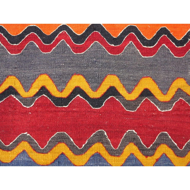 Vintage Turkish Oversized Kilim Runner - 2′2″ × 15′8″ - Image 10 of 11