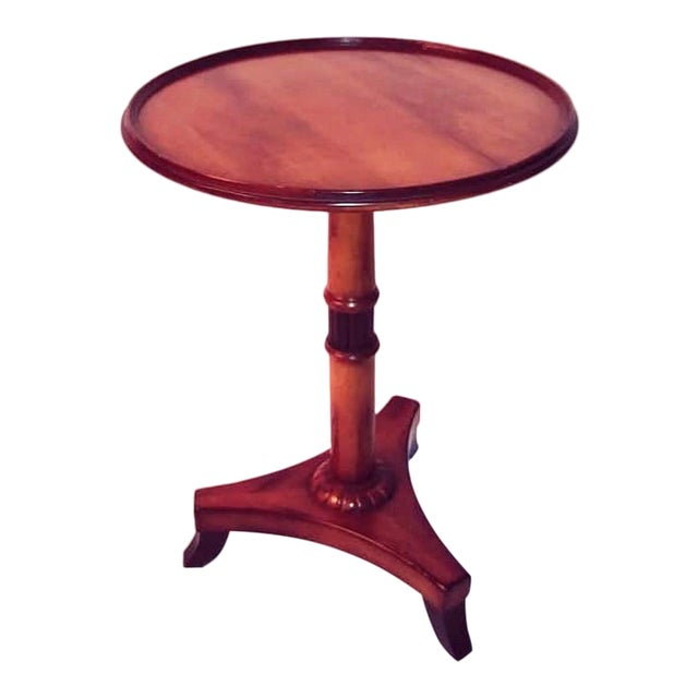 Baker Regency Style Occasional Table For Sale