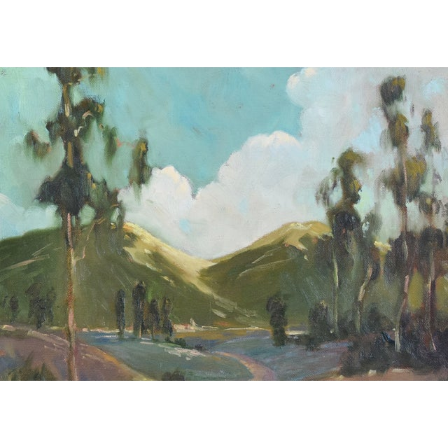 David A. Wilson Plein Air California Landscape Oil Painting For Sale In Los Angeles - Image 6 of 10