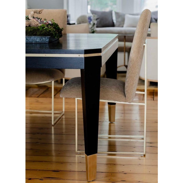 Lawson-Fenning Lawson-Fenning Thin Frame Dining Chairs - Set of 8 For Sale - Image 4 of 10